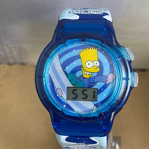 Bart Simpson Talking Digital Watch